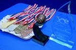 ISA Medals. Credit: ISA/ Michael Tweddle