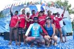 Team Panama and Tuti De Leon. Credit: ISA/ Rommel Gonzales