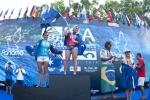 Open Women Finalists Codie Klein, Dimity Stoyle, Suelen Naraisa and Ella Williams. Credit: ISA/ Rommel Gonzales