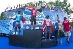 Open Men Finalists Jean Carlos Gonzalez, Shaun Joubert, Cristobal Del Col and Russell Molony. Credit: ISA/ Rommel Gonzales