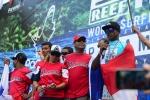 Team Panama. Credit: ISA/ Michael Tweddle
