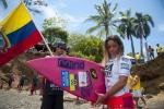 ECU -  Cristina Vargas. Credit: ISA/ Rommel Gonzales