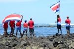 Team Costa Rica. Credit: ISA/ Michael Tweddle