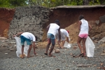 Beach Clean Up. Credit: ISA/ Rommel Gonzales