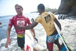 Noe Mar Mcgonagle and Jean Carlos Gonzales. Credit: ISA/ Rommel Gonzales