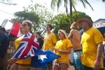 Team Australia. Credit: ISA/ Rommel Gonzales