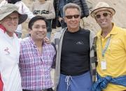 ISA President Fernando Aguerre with Team Peru. Credit: ISA/ Michael Tweddle