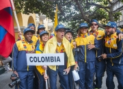 Team Colombia. Credit: ISA/Rommel Gonzales