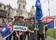 Team Australia. Credit: ISA/Michael Tweddle