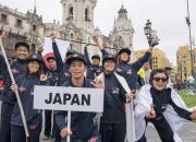Team Japan. Credit: ISA/Michael Tweddle