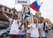 Team Russia. Credit: ISA/ Michael Tweddle