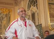 Peru Team Official Ricardo Kauffman. Credit: ISA/ Rommel Gonzales