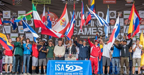 THE CLARO ISA 50th ANNIVERSARY WORLD SURFING GAMES IS OFFICIALLY OPEN Image Thumb