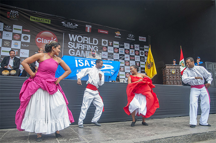 Afro-Peruvian cultural dance. Photo: ISA/Rommel Gonzales