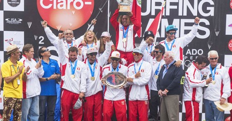 HISTORIC DAY OF SURFING AT THE CLARO ISA 50TH ANNIVERSARY WORLD SURFING GAMES IN PERU Image Thumb