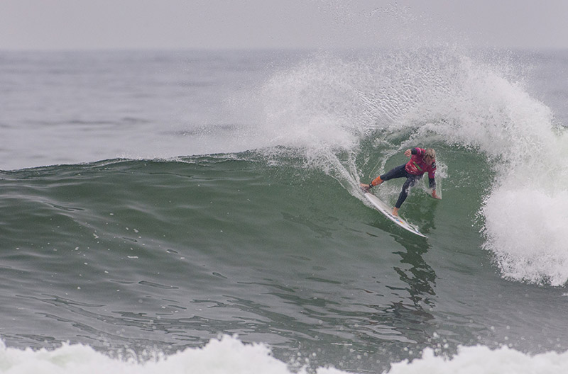 "Argentina made history today at the Claro ISA 50th Anniversary World Surfing Games with two surfers advancing to the Main Event Final including Leandro ""Lele"" Usuna, pictured, and Santiago Muniz. Photo: ISA/Rommel Gonzales"