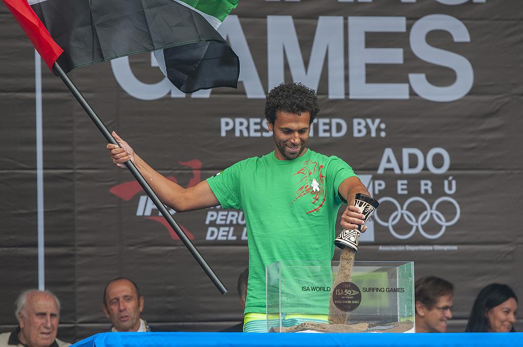 Mohammad Rahma from  United Arab Emirates. Photo: ISA/ Rommel Gonzales